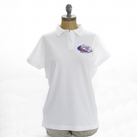 World ARC 2020/21 Womens Polo Shirt - White